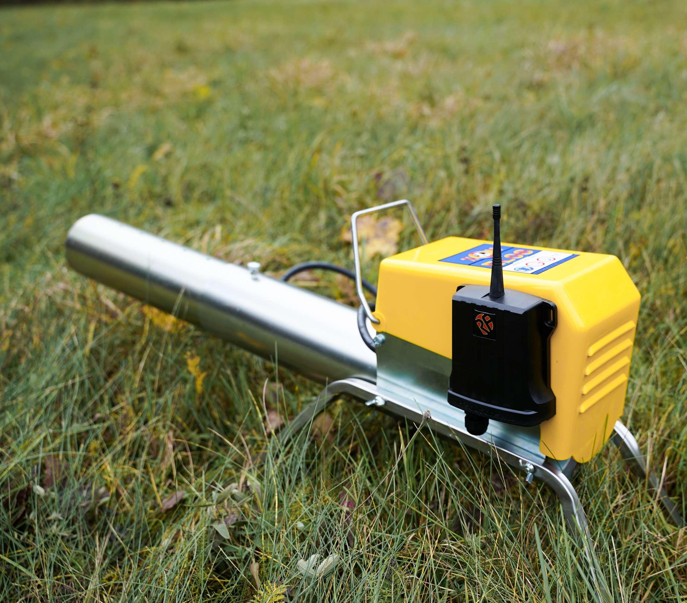 Remote control bird cannon-3
